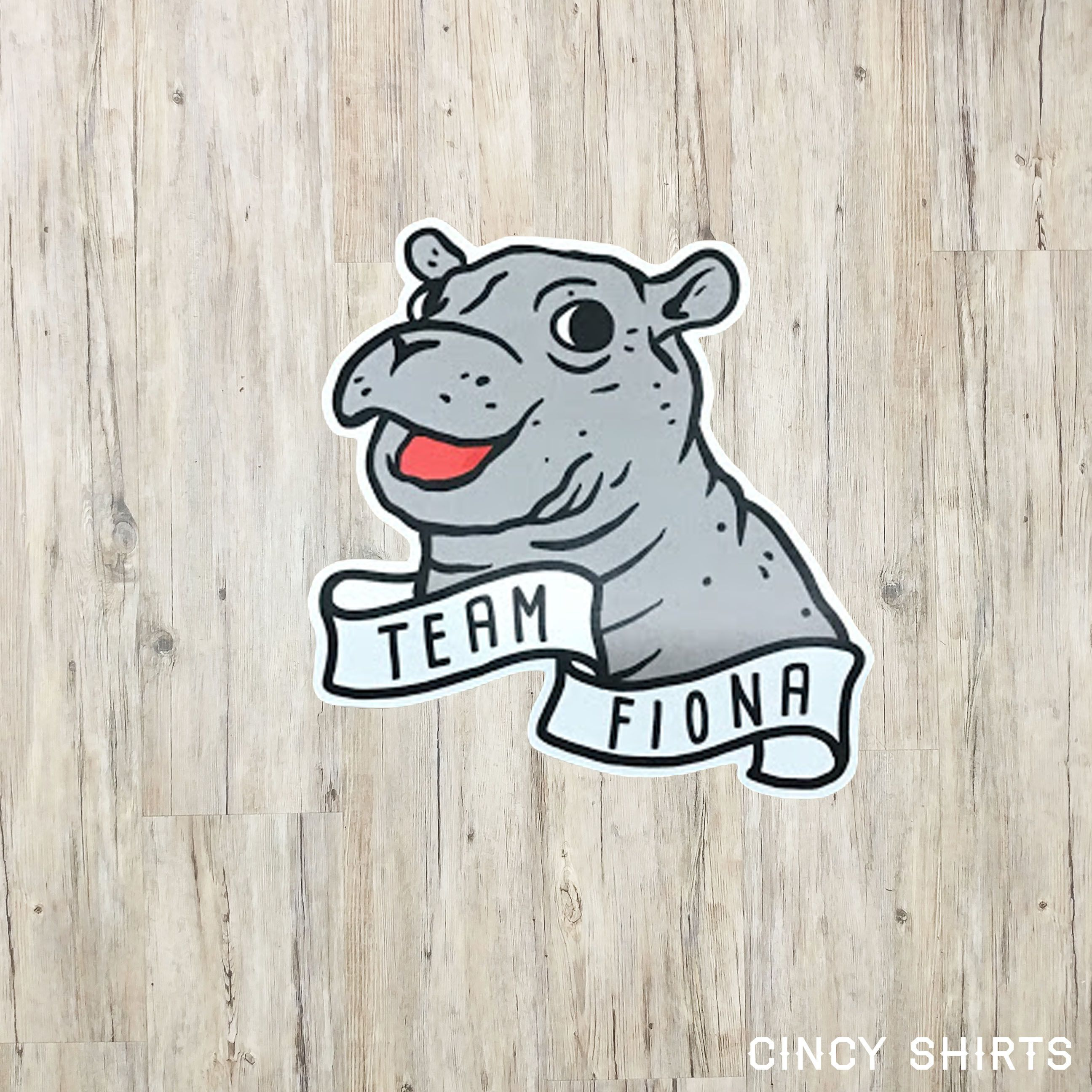 Team the sticker hippos. Hippo clipart fiona