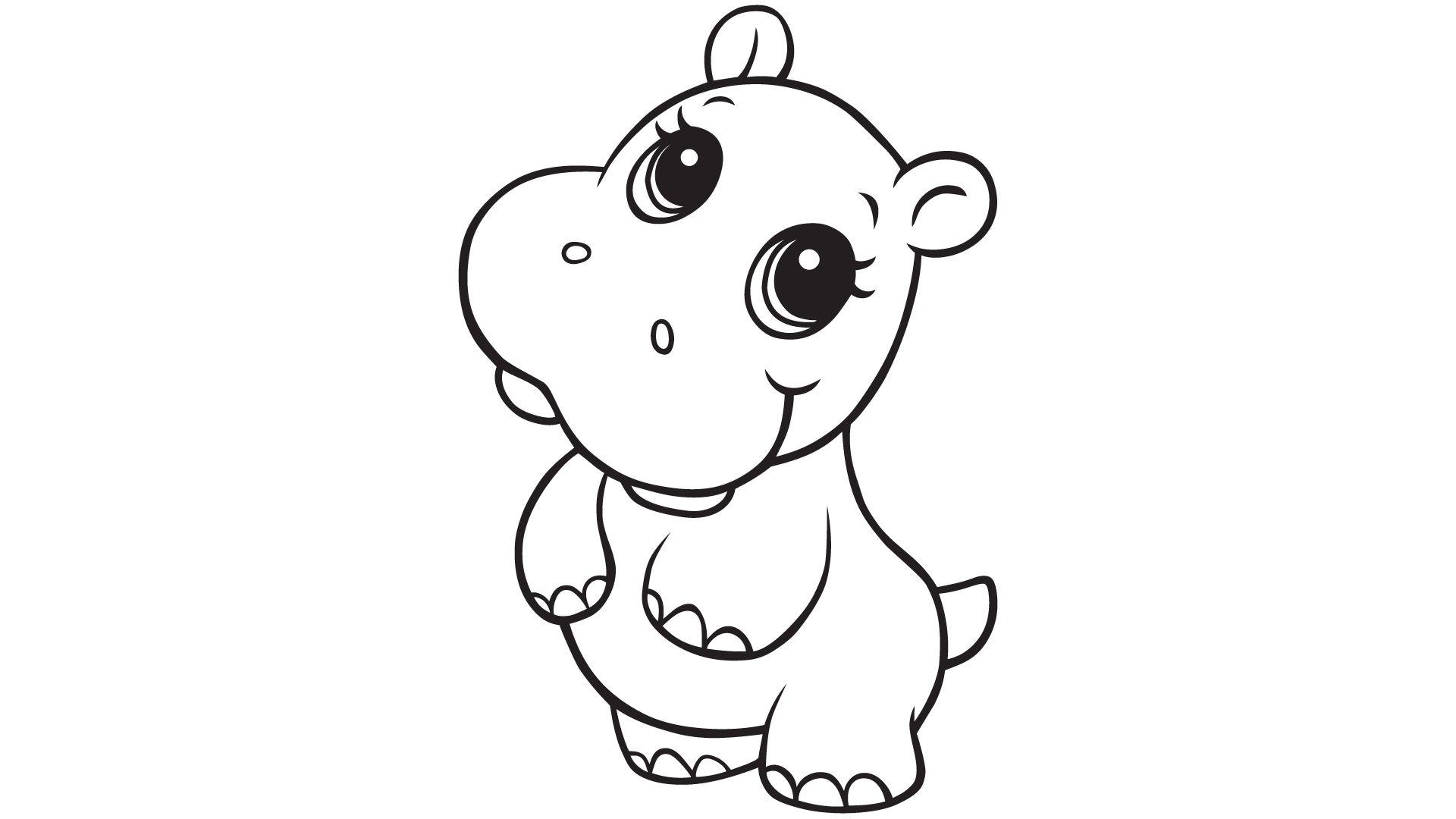 hippo clipart girl hippo