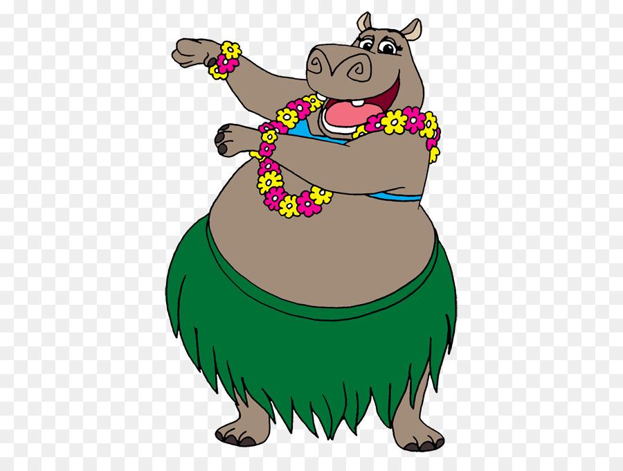 Hippo clipart gloria. Bear cartoon drawing green