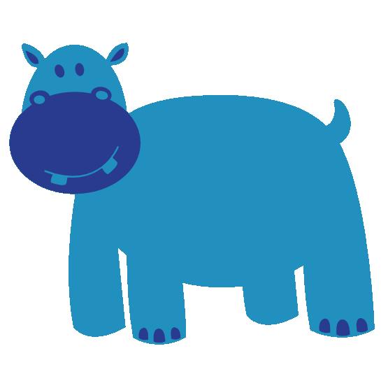 Hippo clipart purple. Clipartist net animal colorful