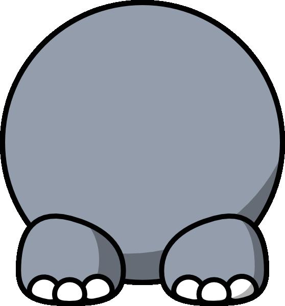 Body clip art at. Clipart hippo hippo head