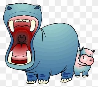 Pig hippopotamus clip art. Clipart hippo hungry hippo