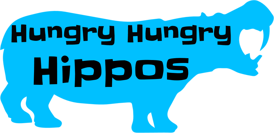 Hippos lazy couple lose. Clipart hippo hungry hippo