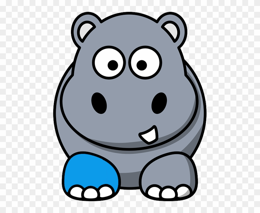 Clipart hippo hungry hippo. Harry the goes to