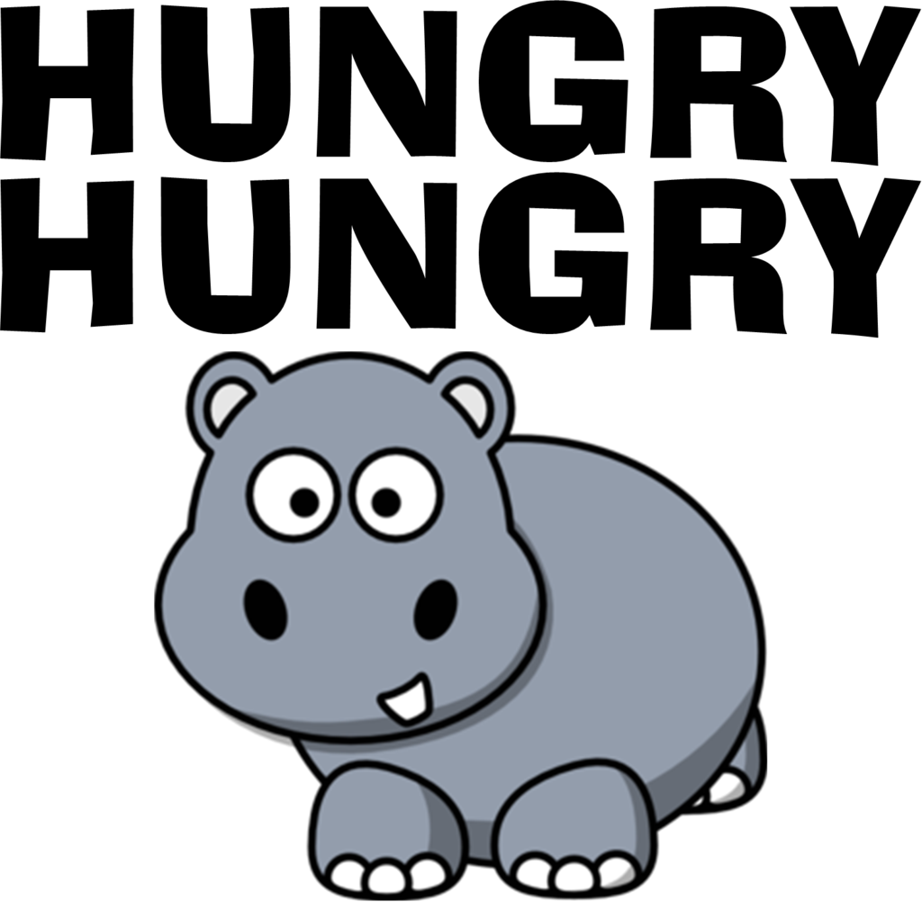 Fashion your own shirt. Clipart hippo hungry hippo