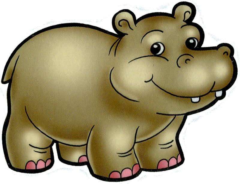 Cartoon filii clip art. Hippopotamus clipart jungle