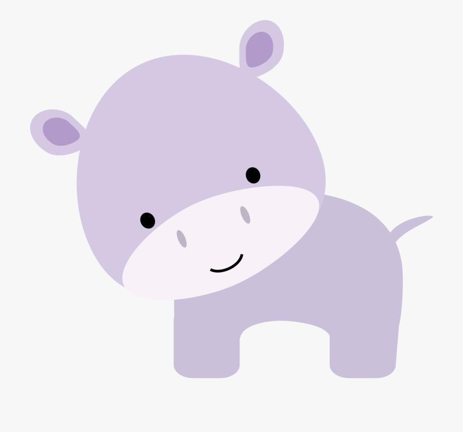 Hippopotamus clipart jungle. Hippo animals felt baby