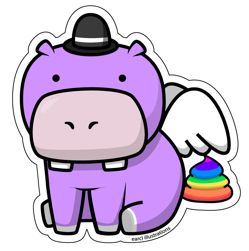 Flying google search arka. Female clipart hippo