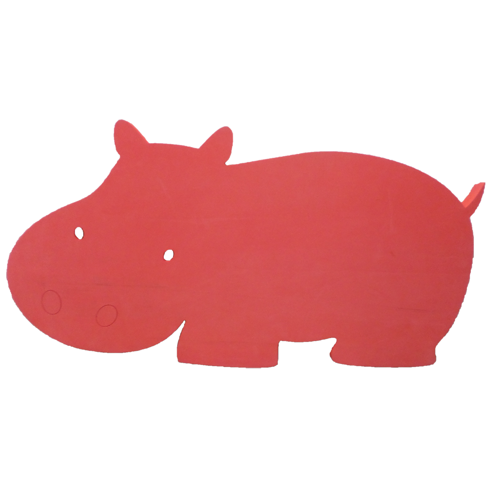 Hank the foam floating. Clipart hippo mask