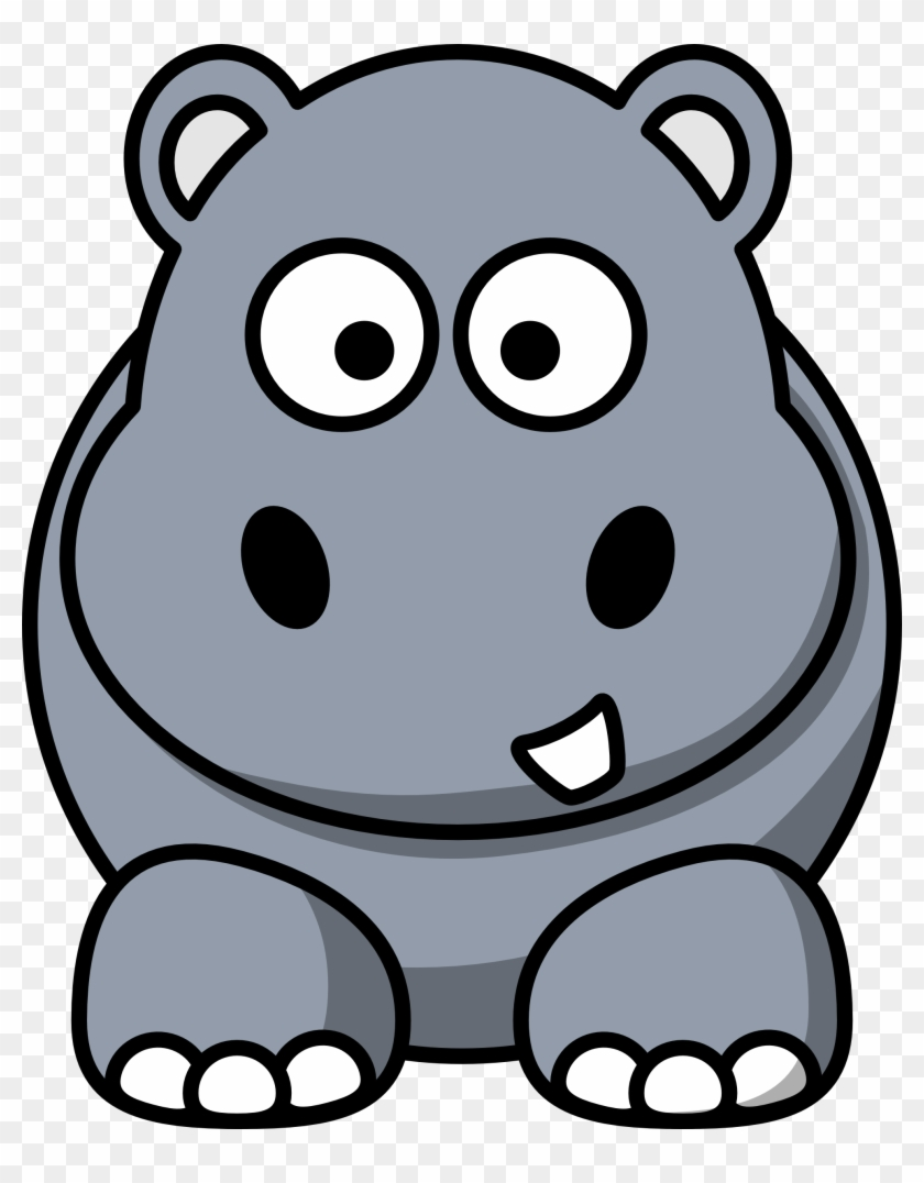 Free download clip art. Hippo clipart mask