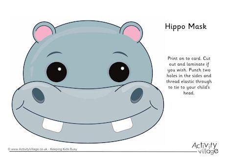 Masks x dumielauxepices net. Hippo clipart mask