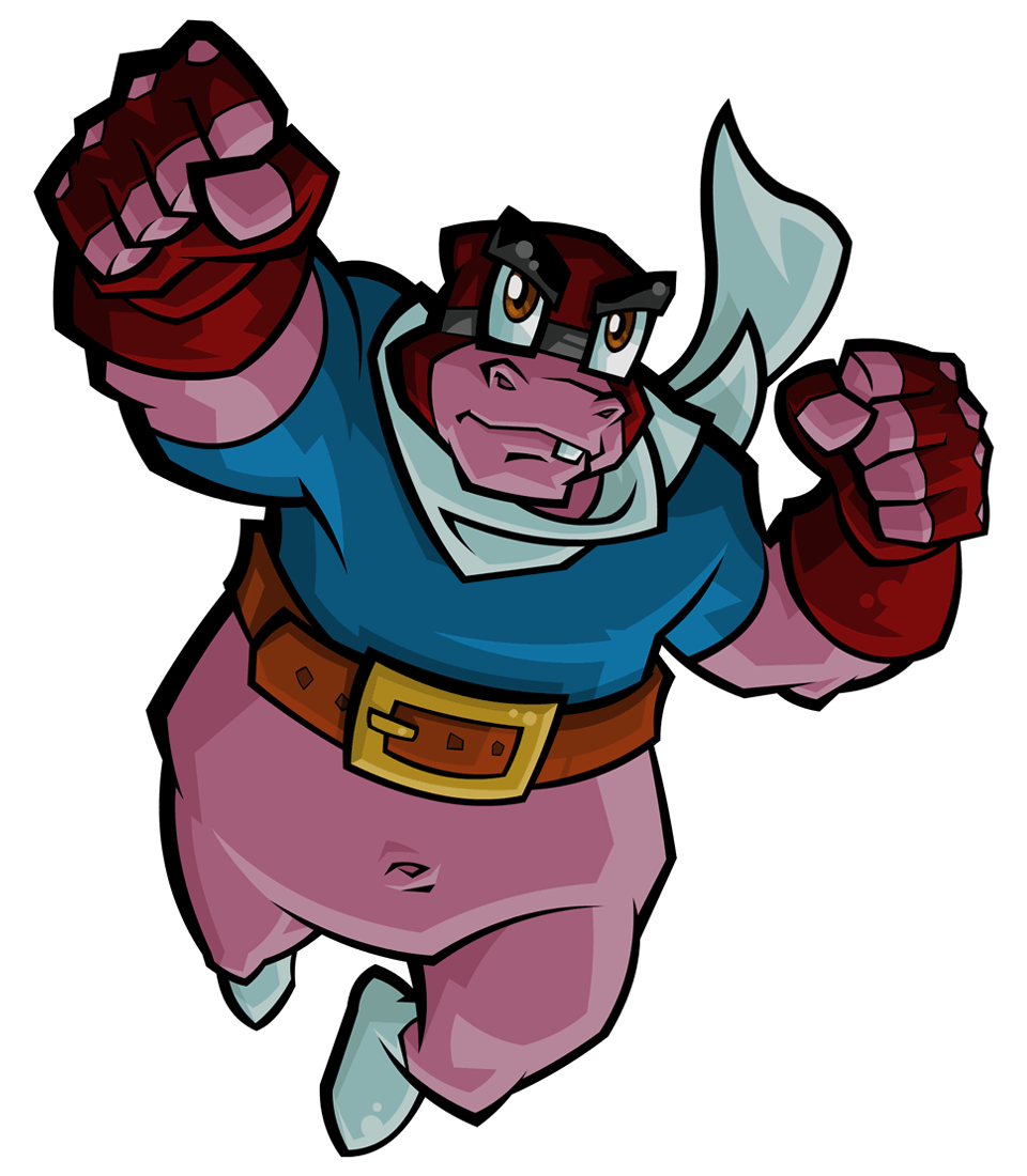 Clipart hippo moving. Murray sly cooper wiki