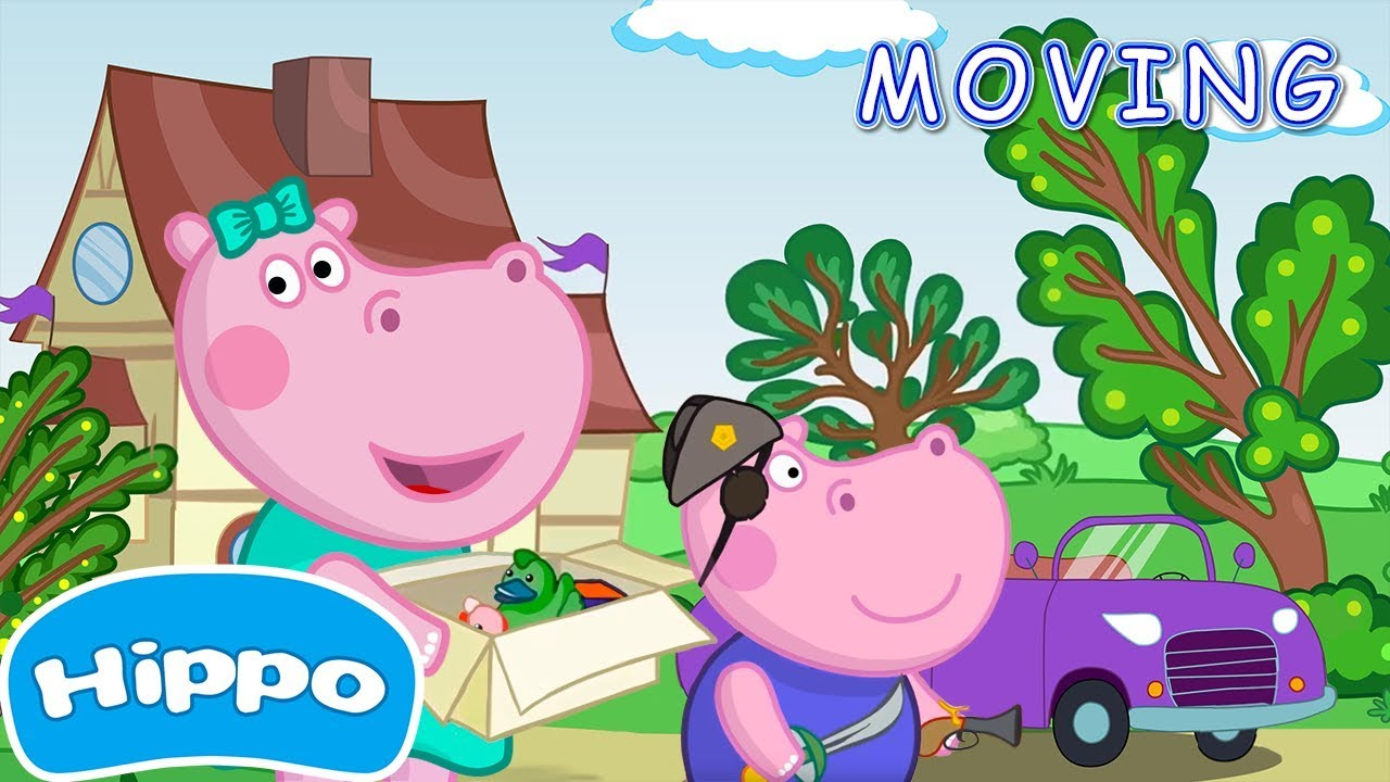 S family episode the. Clipart hippo moving