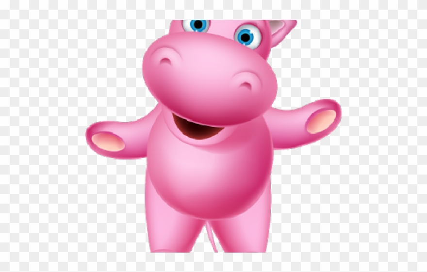 Pinclipart . Hippo clipart pink hippo
