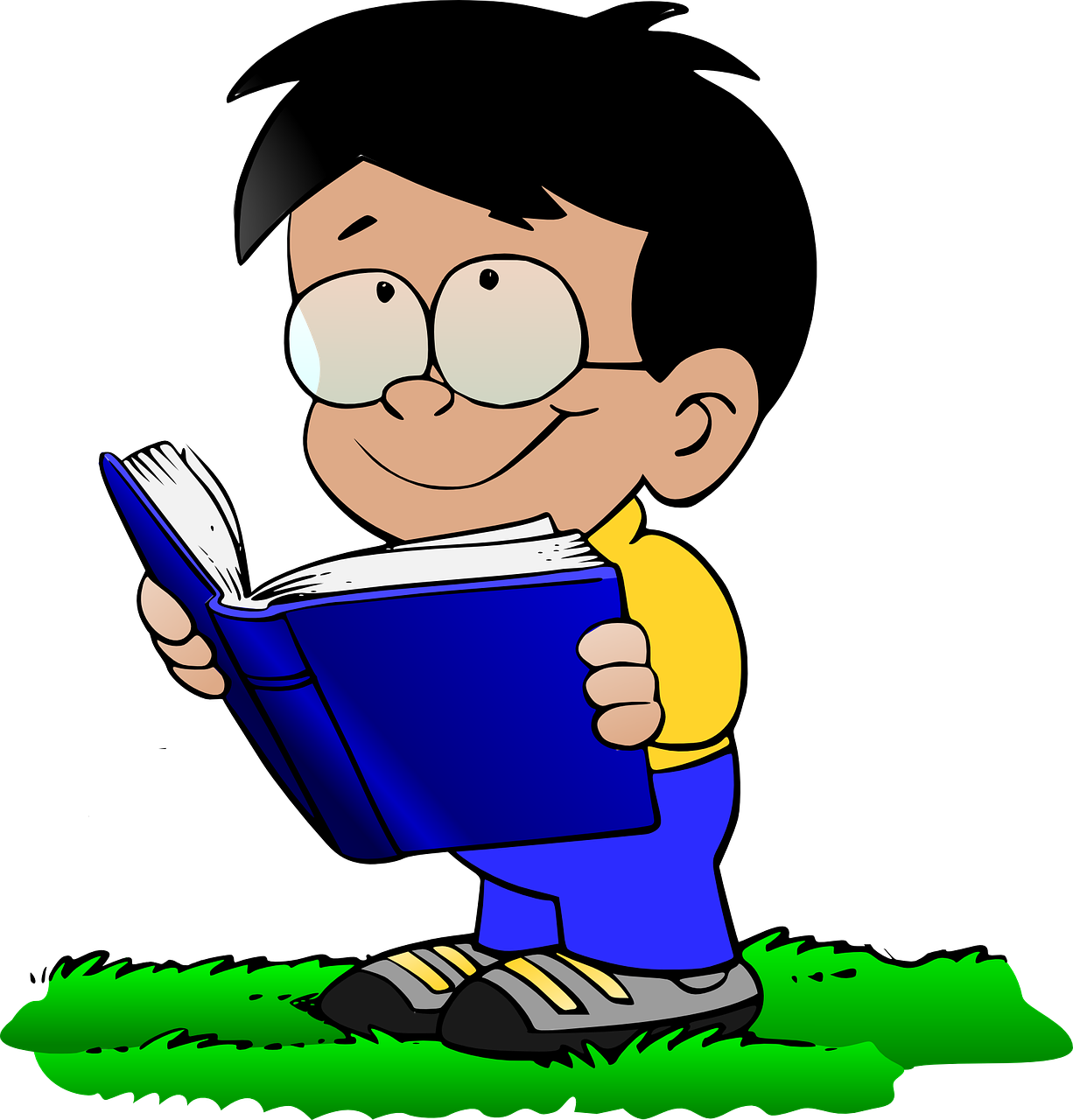 Clipart reading read book. Suggested books to preschool