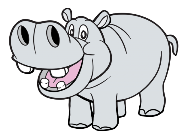 Clipart hippo printable.  huge freebie download