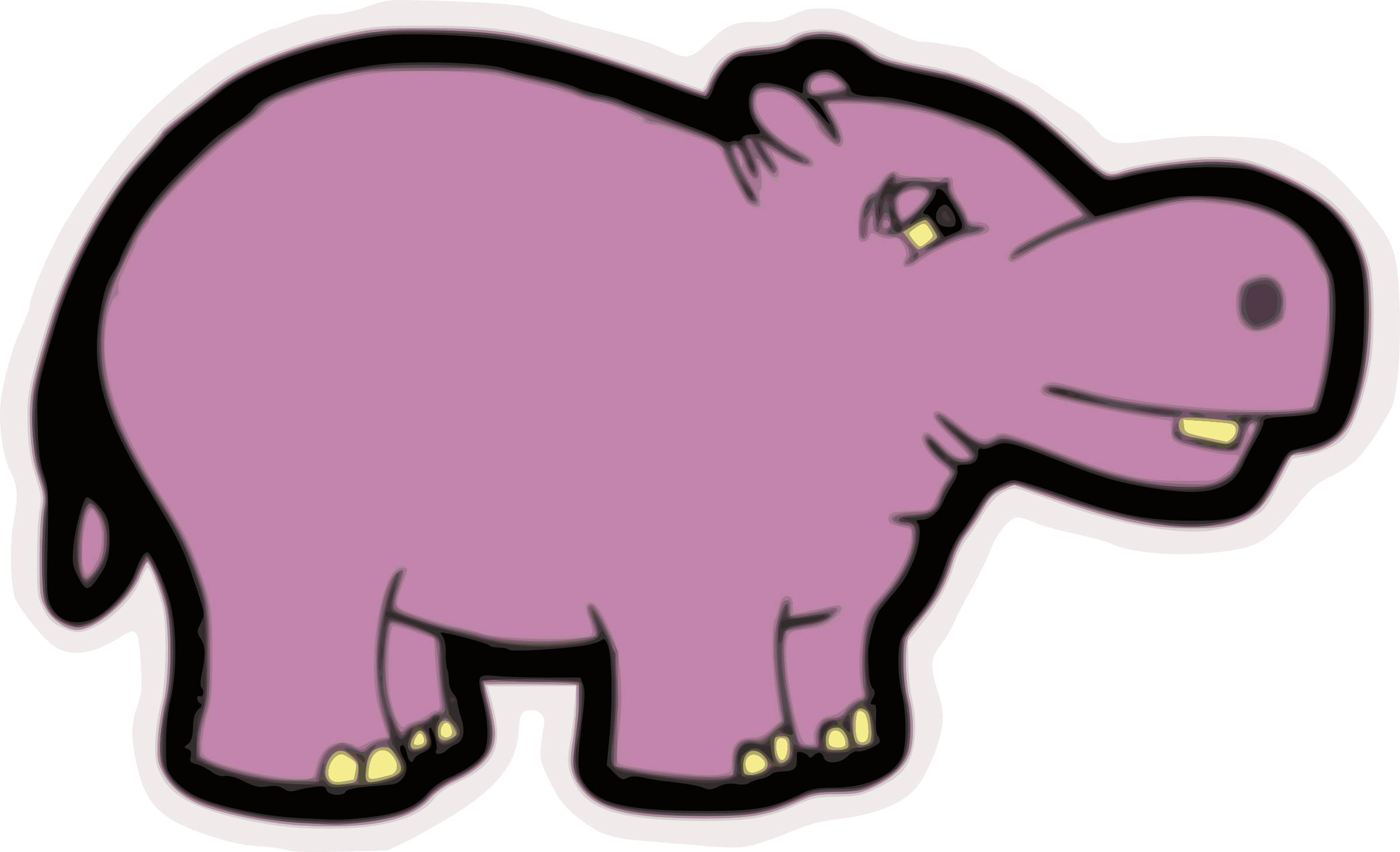 Clipart hippo small. Big image png