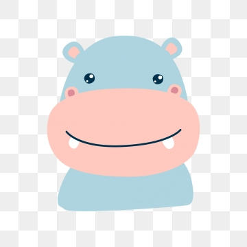 Images png format clip. Clipart hippo small