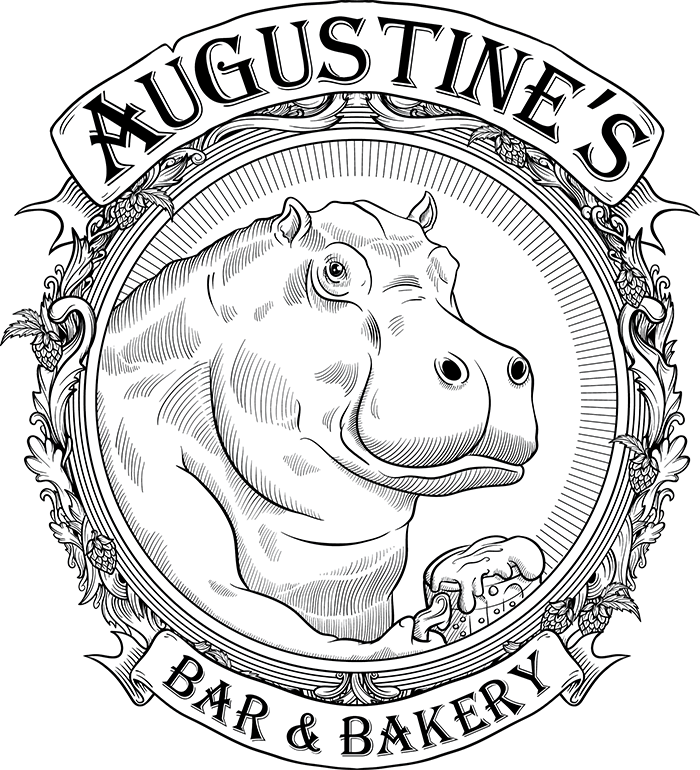 Bakery with a full. Clipart hippo st augustine