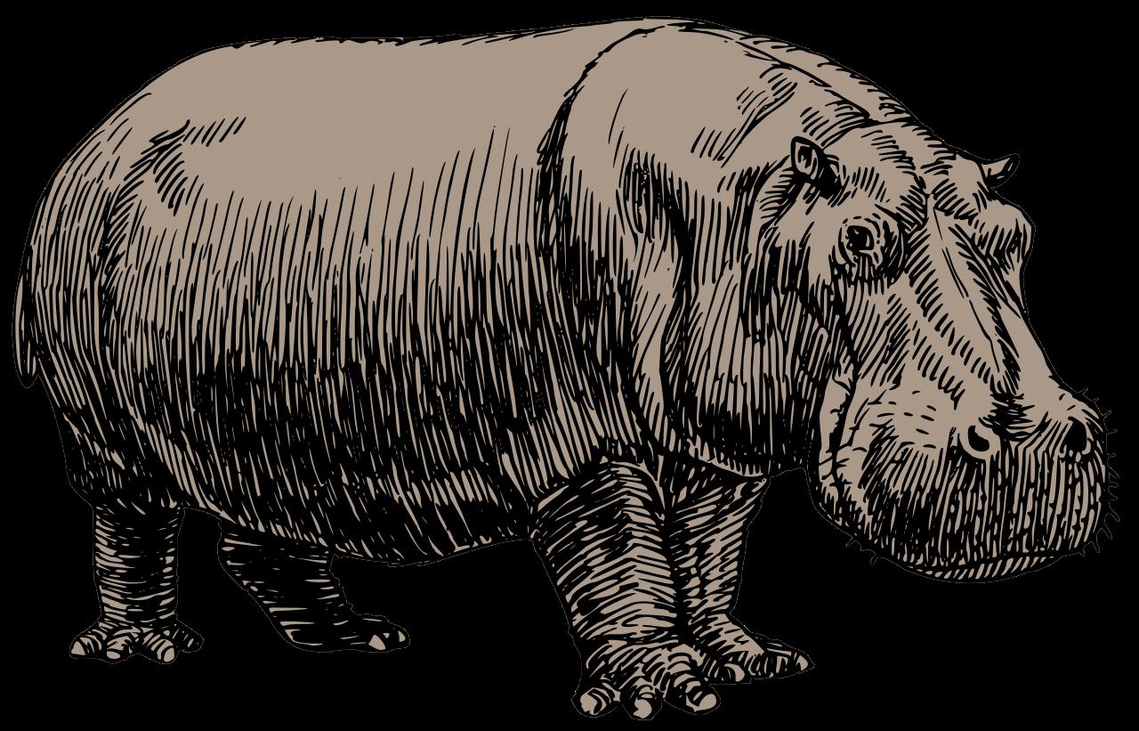 Clipart hippo svg. File hippopotamus psf oksmith
