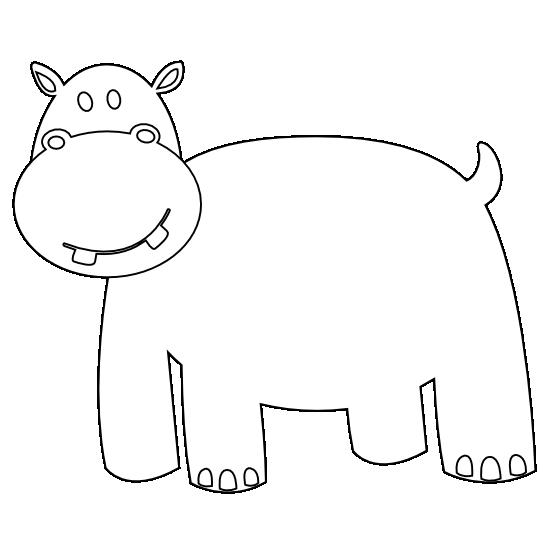 Clipart hippo svg. Clipartist net clip art