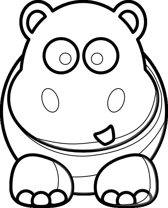 Clipartist net clip art. Clipart hippo svg
