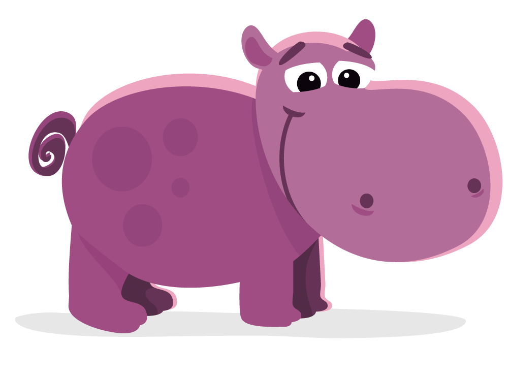 collection of free. Clipart hippo transparent background