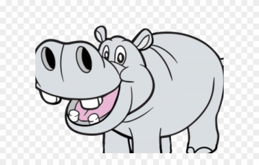 Hippo png download . Hippopotamus clipart transparent background