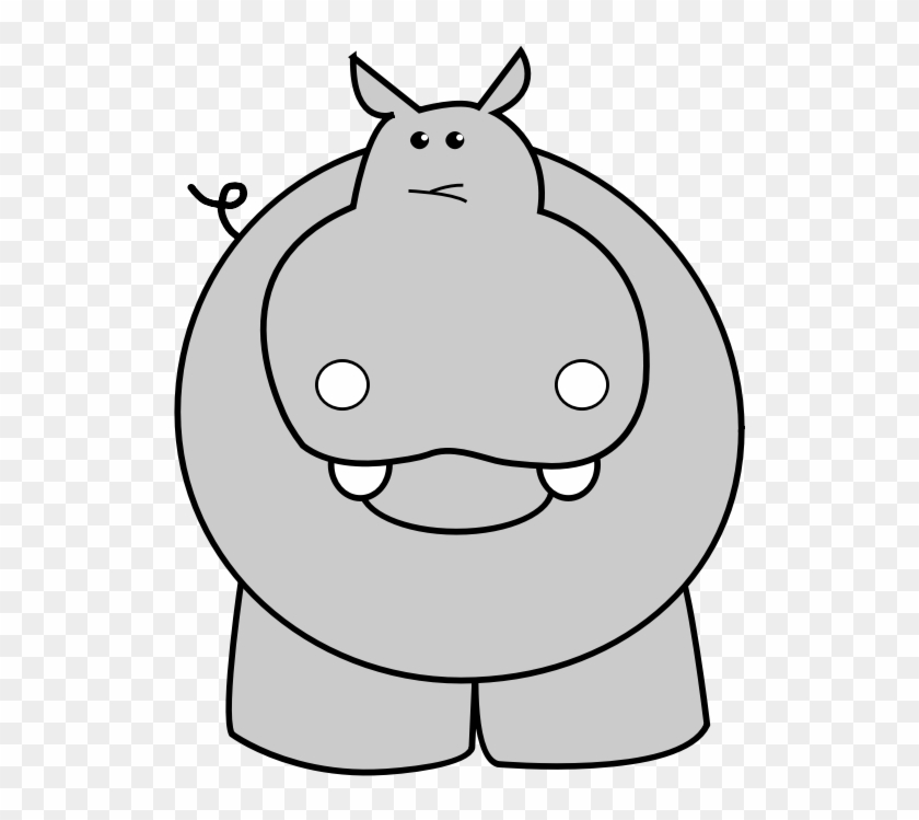 Clipart hippo transparent background. Hd