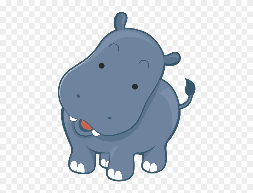 Clip art png royalty. Clipart hippo transparent background