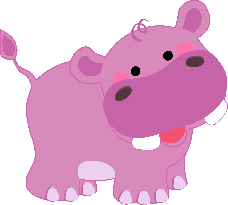 Pin by siti hajar. Clipart hippo wild animal