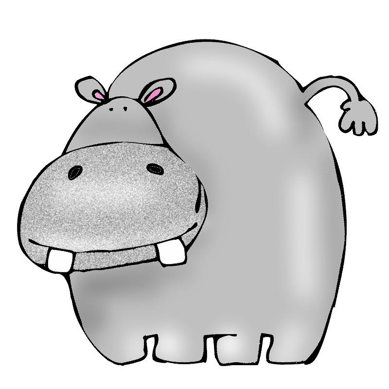 Hippo clipart wild animal. Animals jungle lion glogster