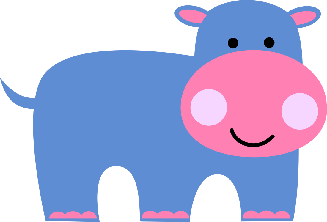 Babies kids inspired paint. Clipart hippo wine