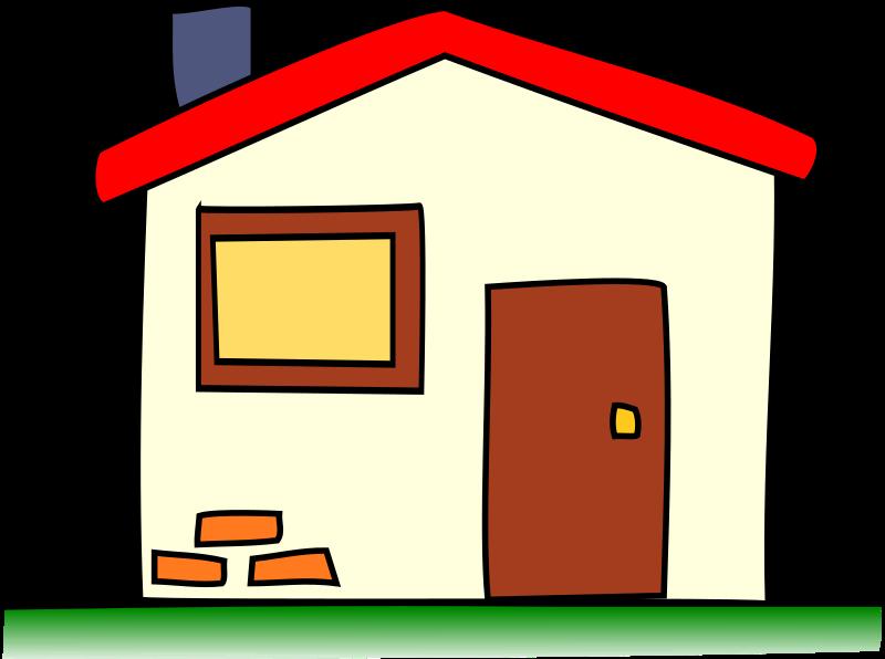 Home clipart animated. My house medium image