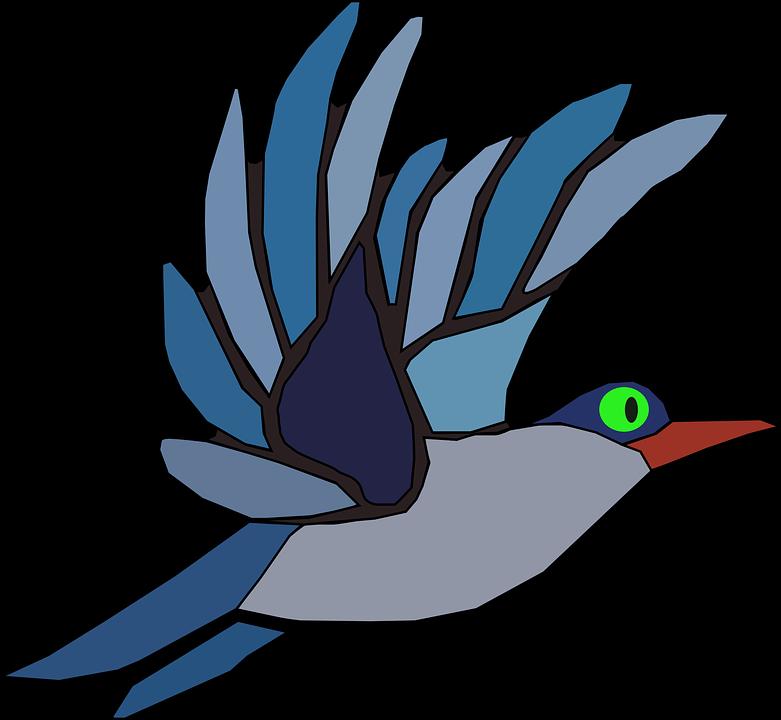 Hummingbird clipart two. Flying bird cartoon shop