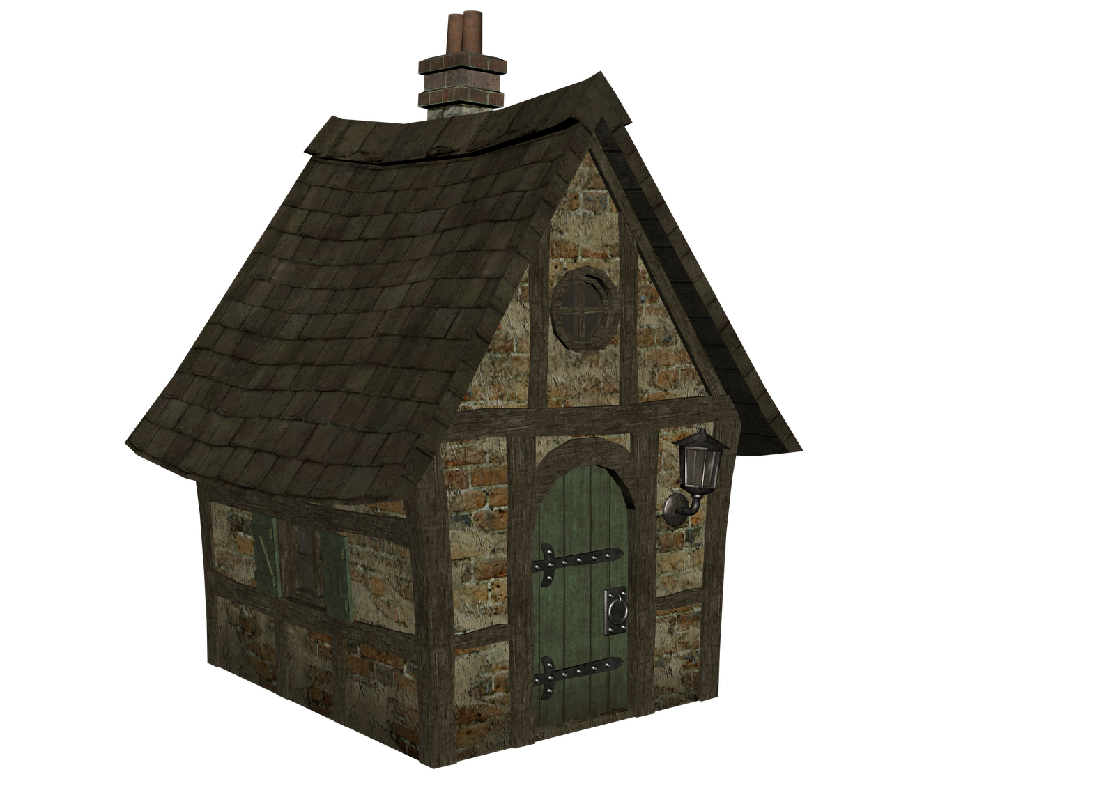 Medieval architecture house clip. Houses clipart middle ages