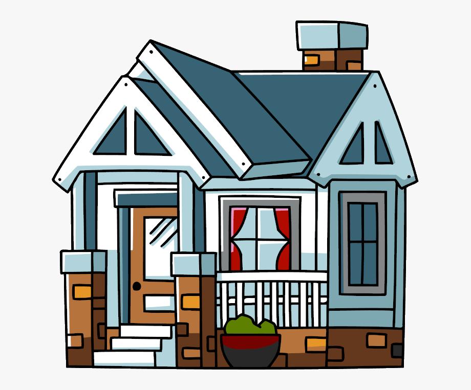 Fall house clip art. Clipart home bunglow