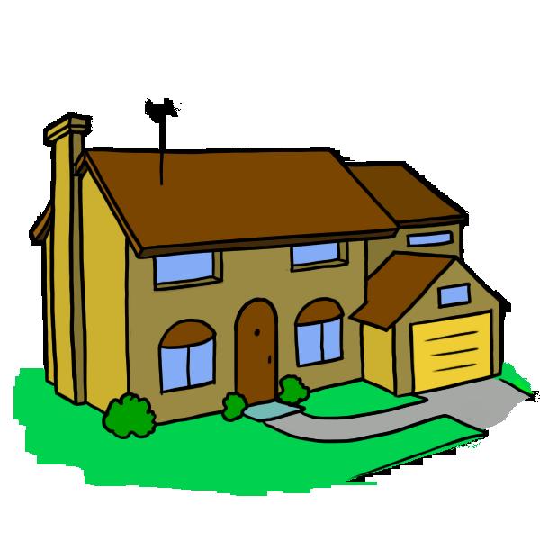 clipart house cartoon