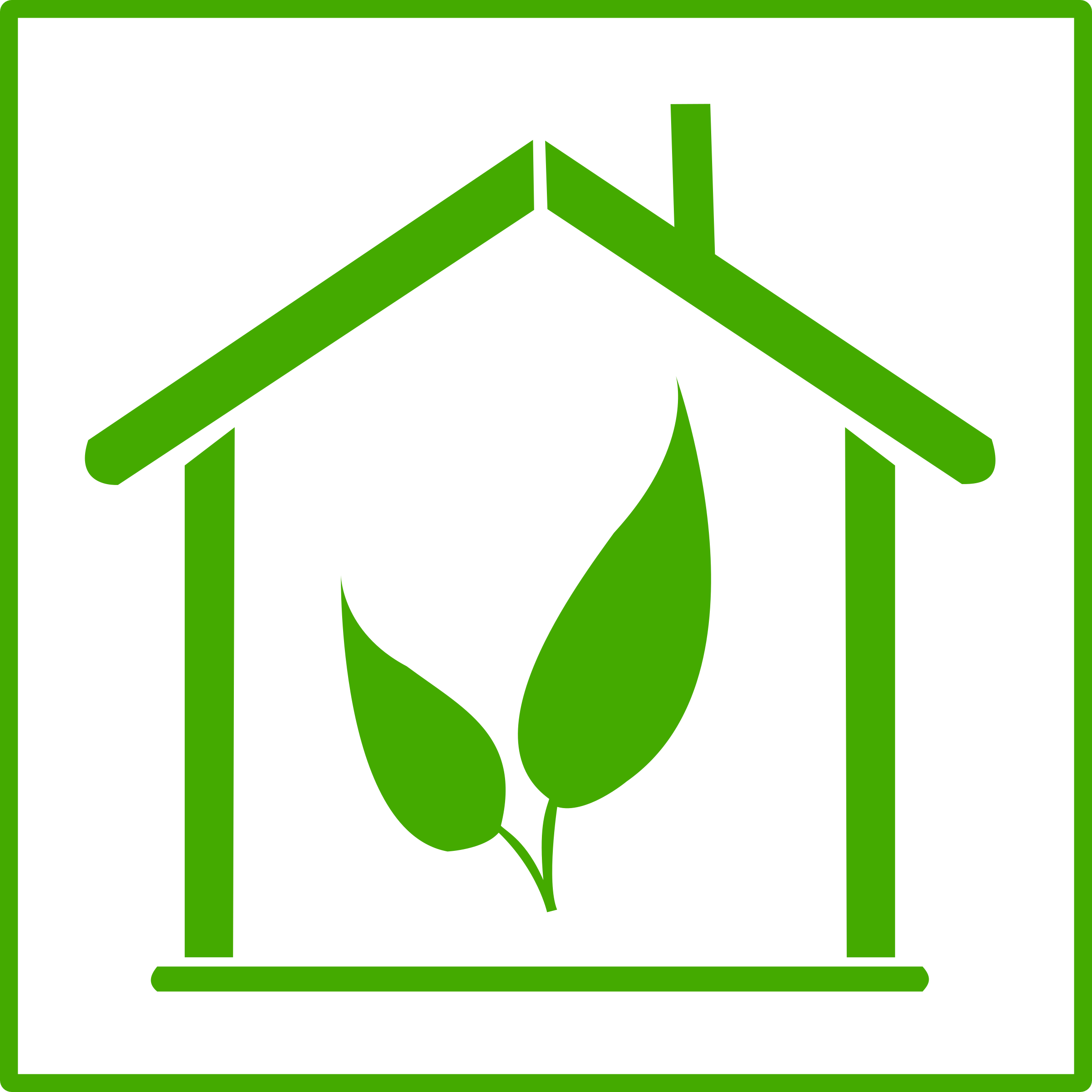 Houses clipart green. Eco house icon big