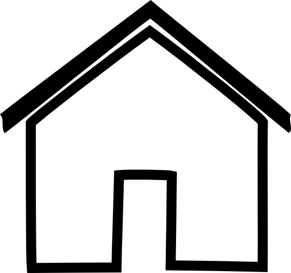 Clip art clipartix . Home clipart home address