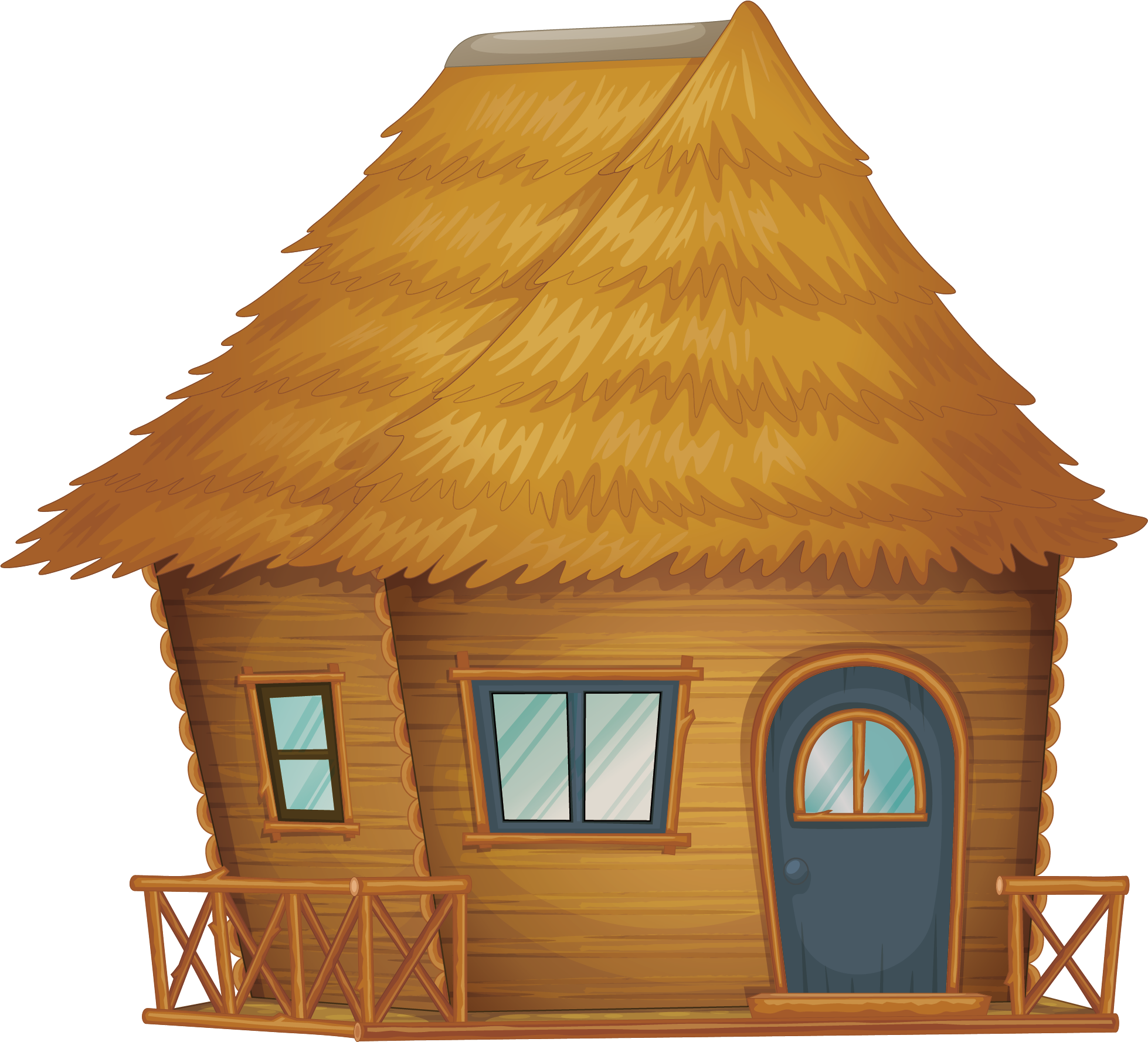 Hut clipart straw house, Hut straw house Transparent FREE ...