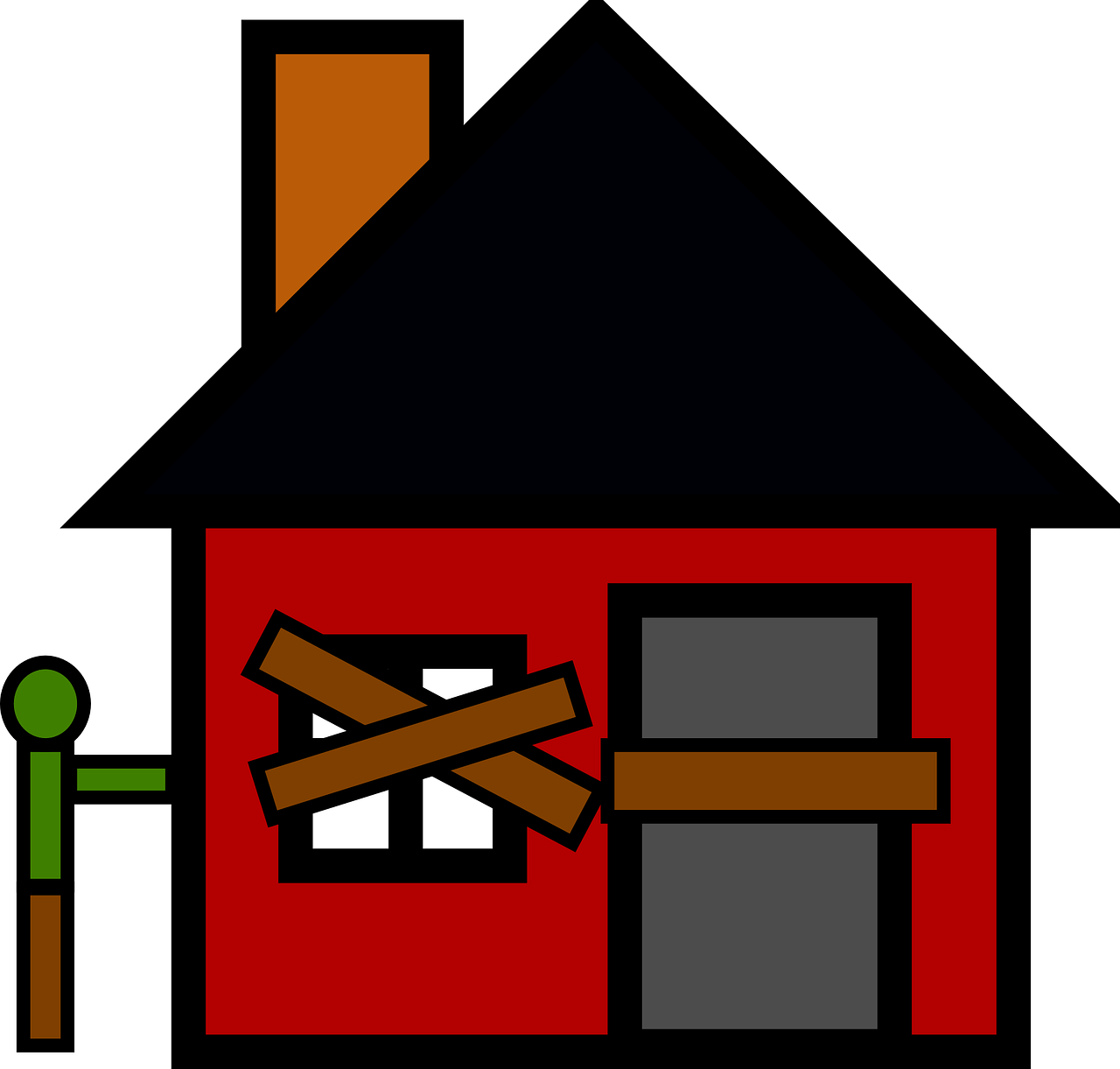 Recovery has many waiting. Clipart home economic