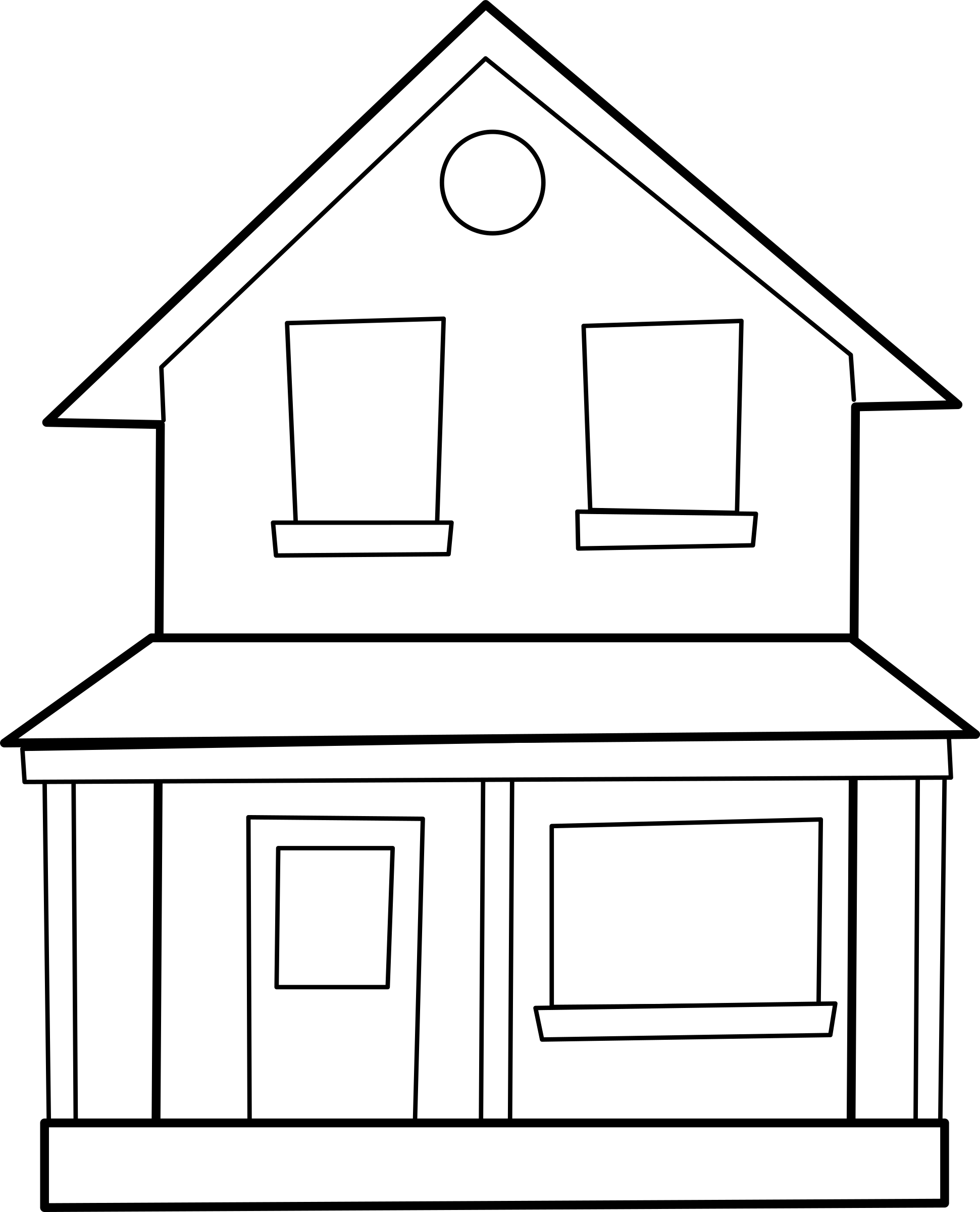 Moving clipart house. Maison big image png