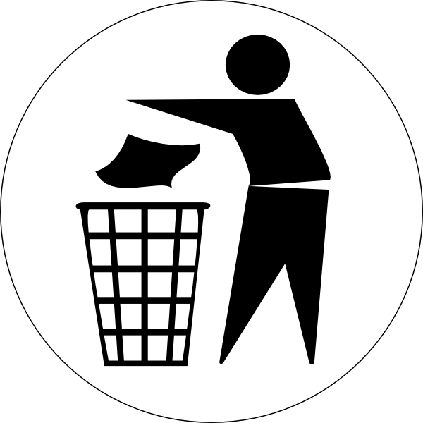 Waste bin clip art. Garbage clipart buang