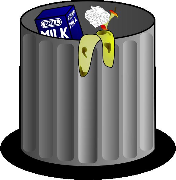 Trash clip art at. Garbage clipart cartoon