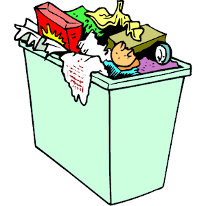 Garbage clipart household waste. Free can cliparts download