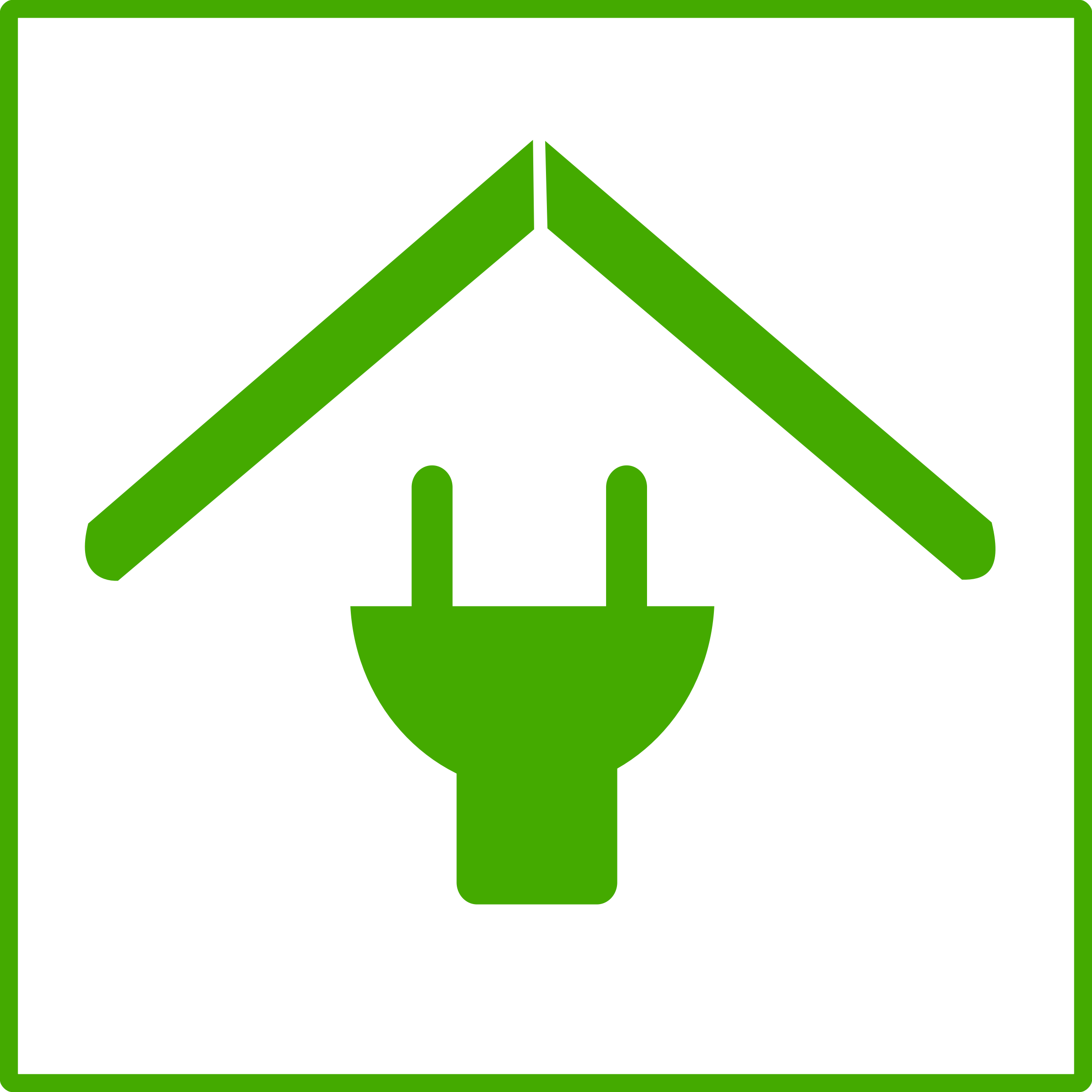 Eco green house big. Energy clipart icon