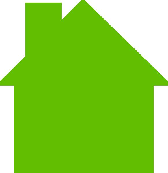 House logo clip art. Houses clipart green
