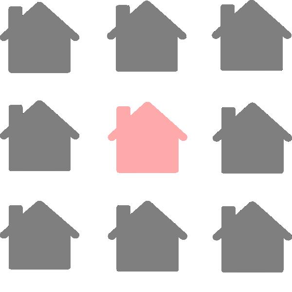 Select clip art at. House clipart grey
