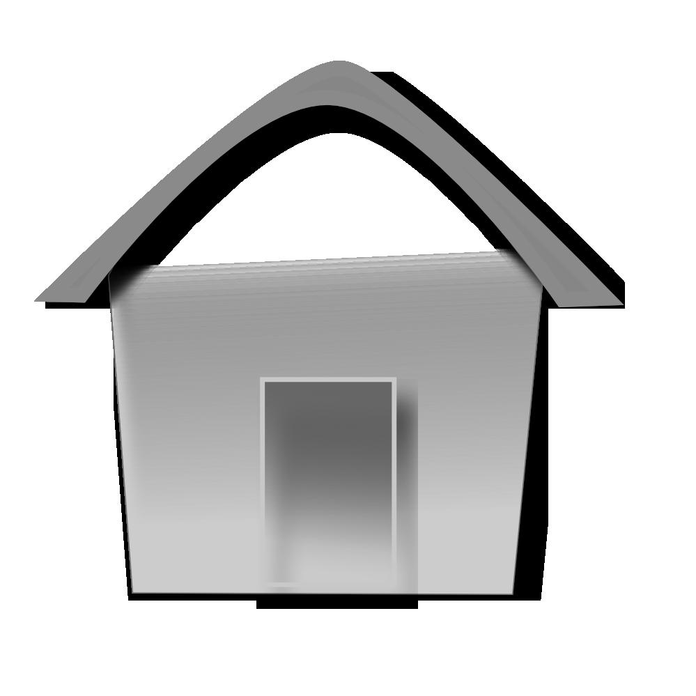 Clipartist net clip art. House clipart grey